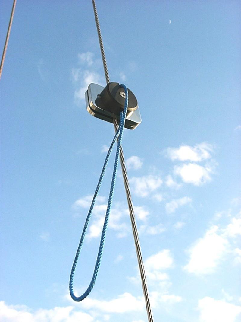Soportes obenques para cabos