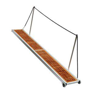 Gangway Modell Leicht mit Teak klappbar L
