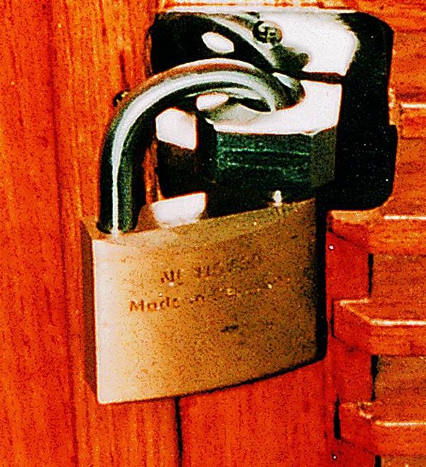 Serrure de sécurité pour la protection contre les intrusions