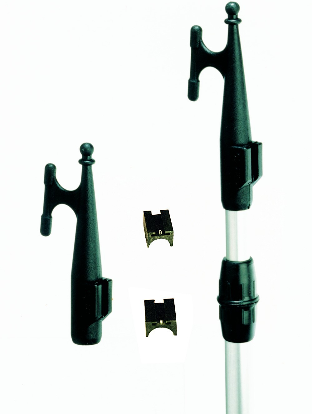 Boat hooks and extensions