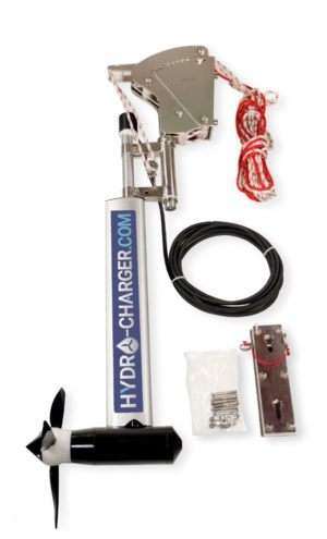 Hydro Charger 24V als Spiegelmontage